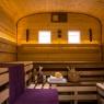 Saunawagen Innen