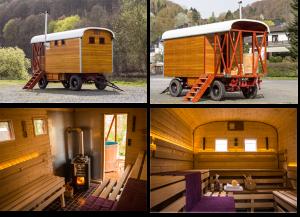 Saunawagen Ansichten | Fotografie Torsten Wich Heiter